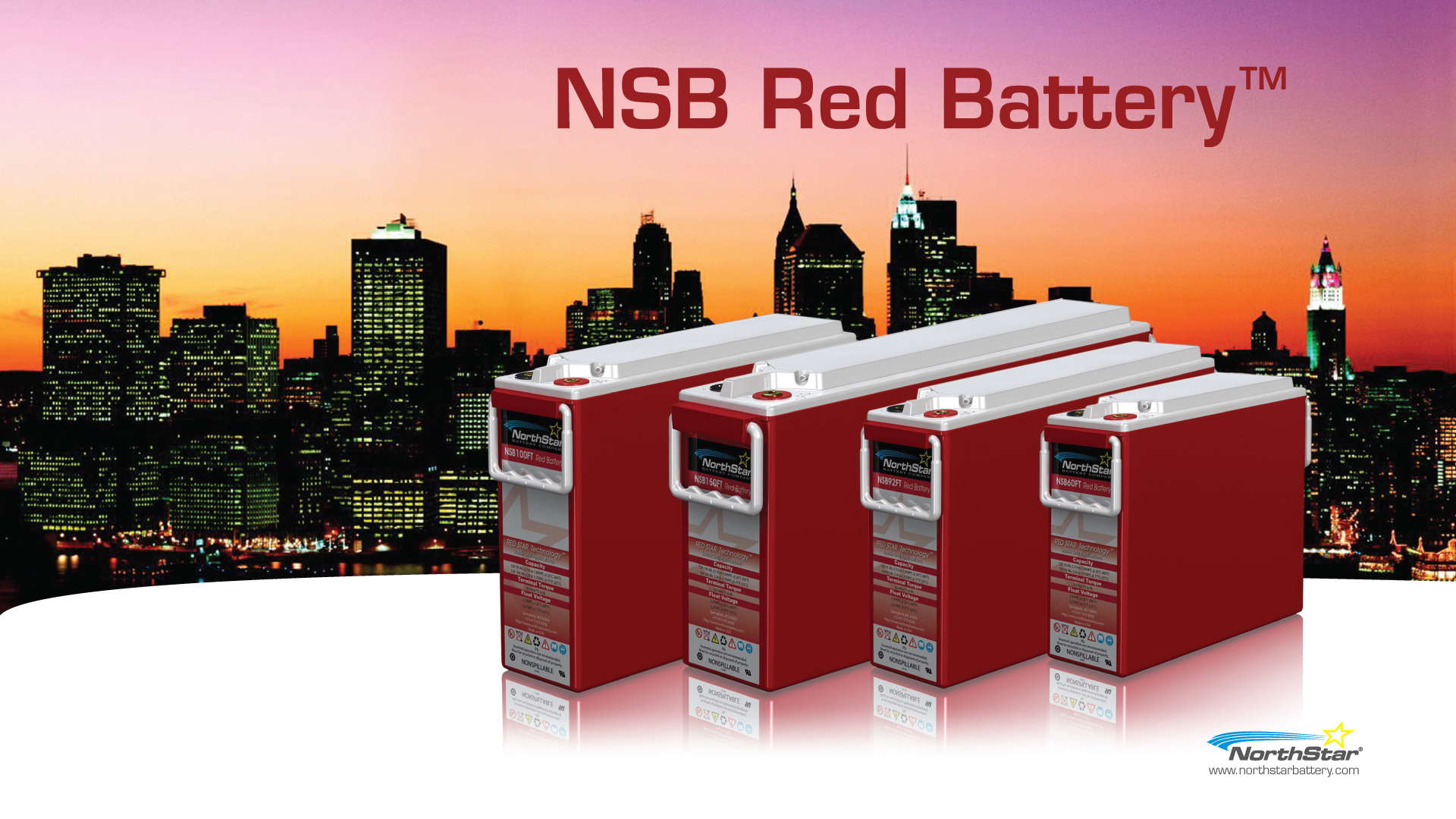north star battery red serires